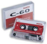 Sanyo C-60 Standard Compact Cassette Tape ( C60 ) Single